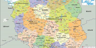 map of poland and surrounding countries poland and surrounding countries map eastern europe europe