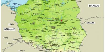Poland map Maps Poland Eastern Europe Europe